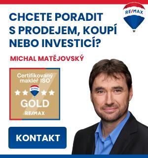 Realitní makléř Michal Matějovský RE/MAX Dynamic